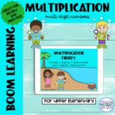Multiplication Boom Learning℠ Quiz   Beach