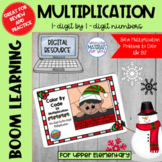 Multiplication Boom Learning℠ Quiz | Christmas Elf