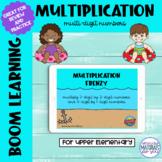 Multiplication Boom Learning℠ Quiz   Ocean