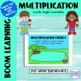 Multiplication Boom Learning℠ Quiz   Pond