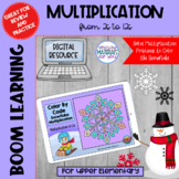 Multiplication Boom Learning℠ Quiz | Snowflake