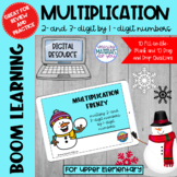 Multiplication Boom Learning℠ Quiz | Snowman
