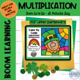 Multiplication Boom Learning℠ Quiz | St Patricks