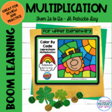 Multiplication Boom Learning℠ Quiz | St Patricks