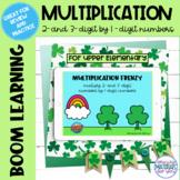 Multiplication Boom Learning℠ Quiz | St Patricks Day