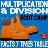 {MULTIPLICATION WORKSHEETS} {learning times tables} {7 Times Table}