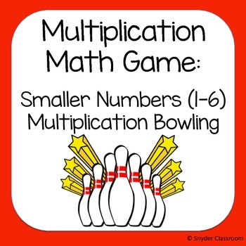 Multiplication Game :  factors 1-6