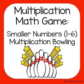Multiplication Game :  factors 1-6
