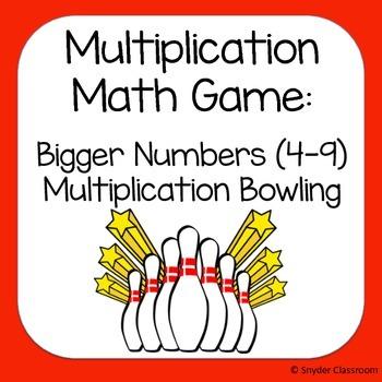 Multiplication Game  :  factors 4-9