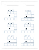 Multiplication Boxes with Regrouping 3x1