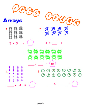 Multiplication Brace Maps = Poster/Anchor Chart with Cards for Students