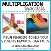 Multiplication Bracelets Fact Fluency 0-12
