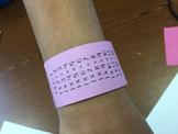Multiplication Bracelets