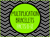 Multiplication Bracelets - Facts 0-12