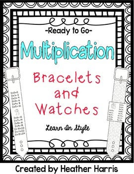 Multiplication Bracelets and Watches