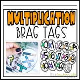 Multiplication- Brag Tags