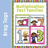 Brag Tags for Multiplication Behavior Rewards
