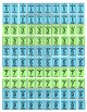 Multiplication Brag Tags (With Multiplication Table)