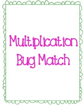 Multiplication Bug Match