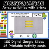 Multiplication- Building Arrays with Bricks  (Printable +