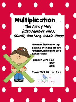 Multiplication: Building Arrays and Number Lines (Common C