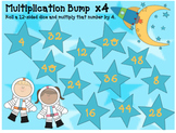 Math Games: Multiplication Bump for  2-12 Times Tables