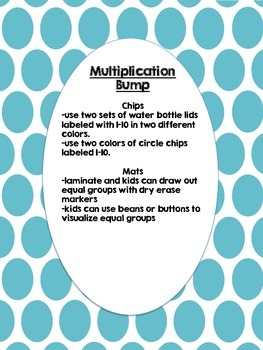 Multiplication Bump 2, 5, 10