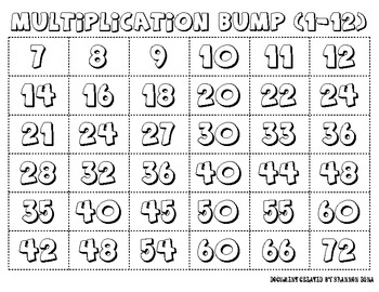 Multiplication Bump - 3 Versions