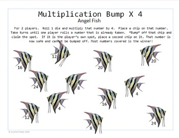 Multiplication Bump- An Activity for Practice