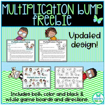 Multiplication Bump Freebie