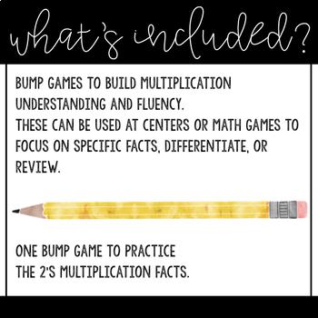 Multiplication Bump Freebie, Multiples of 2