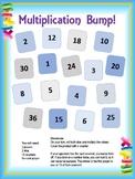 Multiplication Bump Game (1-6)