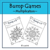 Multiplication Bump Game FREEBIE!