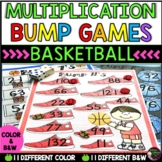 Multiplication Bump Games -2's to 12's (Basketball  themed)