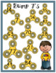 Multiplication Bump Games -2's to 12's (Fidget Spinner Theme)