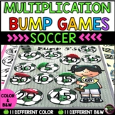 Multiplication Bump Games -2's to 12's (Soccer  themed)