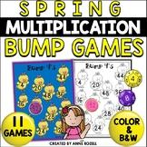Multiplication Bump Games   Spring Math
