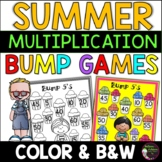 Multiplication Bump Games -2's to 12's (Summer themed) #buyin