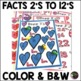 Multiplication Bump Games -2's to 12's (Valentine's Day themed)