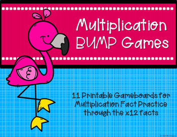 Multiplication Bump Games {Flamingo}