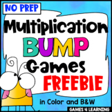 Multiplication Free: Multiplication Games, No Prep Multiplication Bump Games