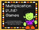 Multiplication Bump Games {Halloween}