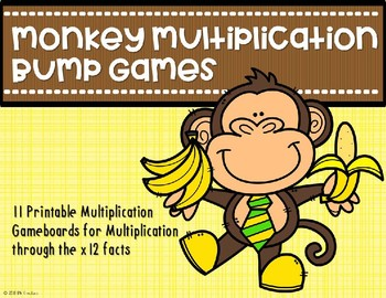 Multiplication Bump Games {Monkey}