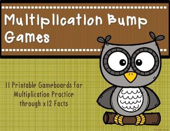 Multiplication Bump Games {Owl}
