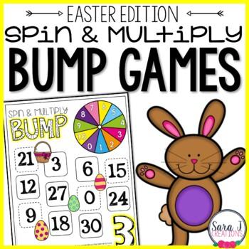 Spring & Easter Multiplication Games