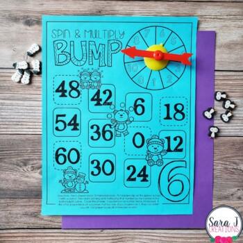 Winter Multiplication Games