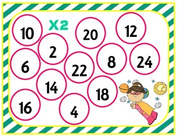 Multiplication Bump X2 Freebie