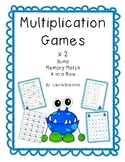 Multiplication Math with a Partner Games (x2 practice)