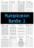 Multiplication Bundle: 1 Times Tables