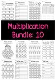 Multiplication Bundle: 10 Times Tables